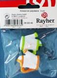 Arrosoir en polyresine, 3 cm, sct.-LS 2 pces, 2 couleurs
