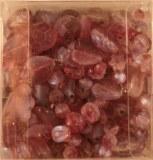 Assortiment de perles acryliques, 5-13 mm a¸, 6 types, boite 150 pces, lilas fonce