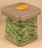 Epingle de surete, 34 mm, 0,80 mm a¸, boite 50g - 115 pces, vert clair