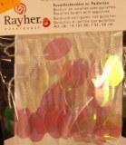 Bordure de rocailles avec paillettes, sct.-LS carte 50 cm, blanc irise