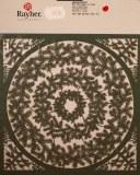 Piece decoupee Couronne de sapin, sct.-LS 1 coupon, 15,4x15,2 cm, vert pin