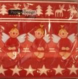 Serviettes, 33x33 cm, paquet 20 pces, Enfants d`ange