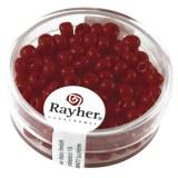 Perles indiennes. 4.5 mm ø boîte 17 g rouge