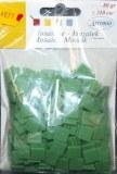 Mosaique resine haute qualite couleur vert 1 cm (80g environ 310cm²)