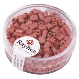 Metallic-rectangle. depoli 5x3.5 mm. boite 17 g rose