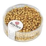 Metallic-rocailles. depolies 2.6 mm boite 17 g jaune d`or