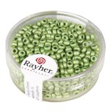 Metallic-rocailles. depolies 2.6 mm boite 17 g vert tilleul