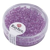 Rocailles  Arktis . lustres 2.6 mm boite 17 g lilas tendre