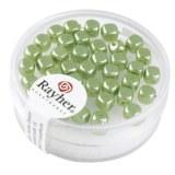 Des Renaissance 4.5x5 mm. boîte 40 pces jade