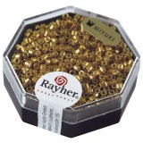Delica-rocailles. 2.2 mm metallic or