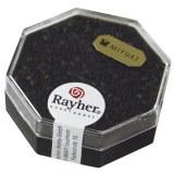 Delica-rocailles. 2.2 mm metallic depoli noir
