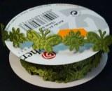Ruban de satin Papillon, 15 mm, rouleau 5 m, vert clair
