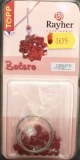 Kit pendentif perles rouge cristal Swarovski