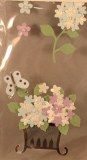 Motif autocollant Fleurs, 1-5 cm, sct.-LS 5 pces