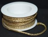 Cordon X-MAS: Brocart n° 2, 2 mm, rouleau a 4 m