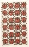 Piece decoupee au laser Coccinelle, sct.-LS 1 coupon 5,1x7,7 cm