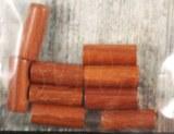 Bayong-perles en bois, naturel, petit rouleau, 20x8 mm, sct.-LS 9 pces