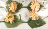 Petit pick Daisy, 8 cm, sct.-LS 4 pces, orange