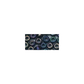 Rocailles. 2.6 mm ø. opaques lustre<br />noir