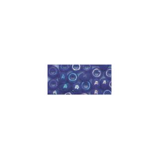 Rocailles. 2.6 mm ø. opaques lustre<br />bleu fonce