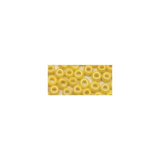 Rocailles. 2.6 mm ø. opaques lustre<br />jaune