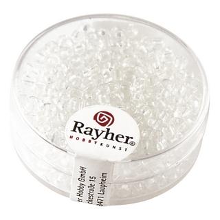 Rocailles, 2,6 mm ø, transparentes<br />cristal