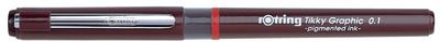 Rotring Tikky Graphic stylo feutre, largeur de trac&eacute; 0,1 mm<br />pce.