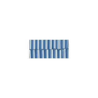 Chevilles en verre. 7/2 mm bleu clair