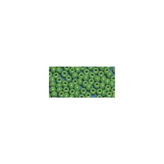 Perles indiennes. 4.5 mm ø vert