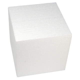 Cube en polystyrene 20x20x20 cm