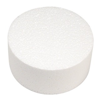 Disque en polystyrene ø 15 cm, 7 cm