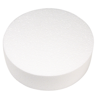 Disque en polystyrene ø 25 cm, 7 cm