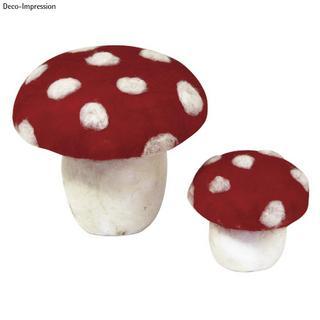Champignon en polystyrene 13 cm