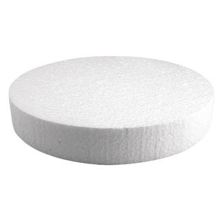 Disque en polystyrene ø 25x4 cm
