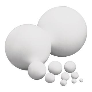 Boules en polystyrene, 1 pièce 7 cm ø