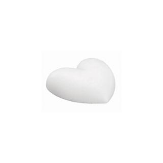 Coeur en polystyrene, plat 15 cm