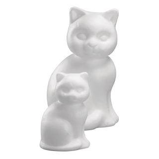 Chat en polystyrene 13 cm