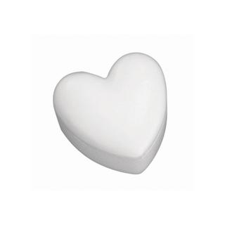 Boîte en polystyrene Cœur 15 cm 2 parties
