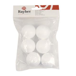 Boule en polystyrene 3 cm, sct,-LS 8 pces