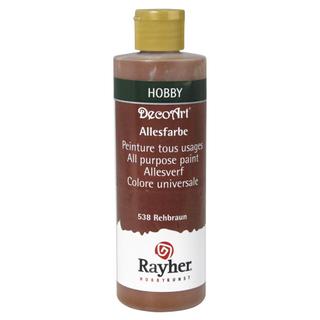 Peinture tous usages 235 ml brun chevreuil