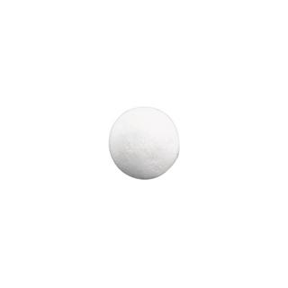 Boules en ouate. blanches 35 mm ø. sct.-LS 11 pces