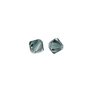 Perles cristal Swarovski toupie 4 mm ø.  topaze fumee