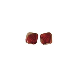 Perles cristal Swarovski toupie 6 mm ø.  grenat