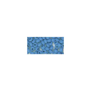 Rocailles. 2 mm ø. opaques bleu clair
