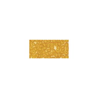 Rocailles. 2 mm ø. opaques jaune