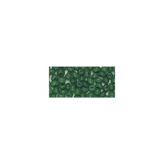 Rocailles. 2 mm ø. opaques vert