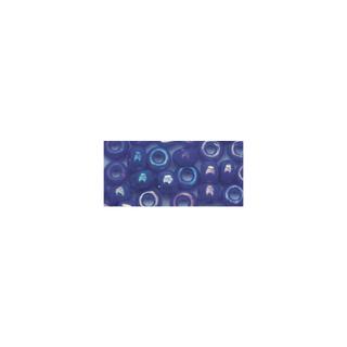 Rocailles. 2 mm ø. opaques lustre bleu fonce