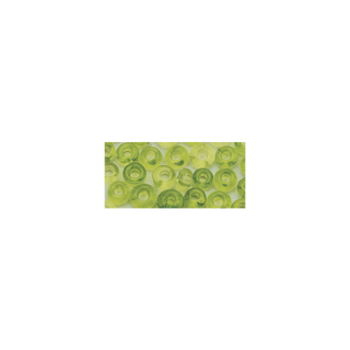 Rocailles. 2 mm ø. transparentes vert clair