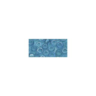 Rocailles. 2 mm ø. transparentes lustre turquoise