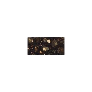 Perle facettee en verre, 4 mm ø irisée praliné